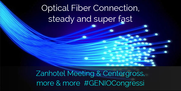 fiber optic hotel centergross meeting Bologna